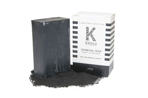 Khulu Soap - charcoal healing soap