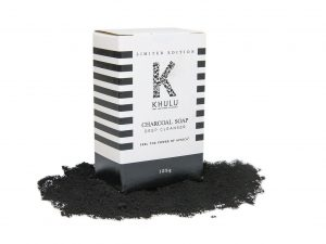 Charcoal Soap - Khulu Soap - activated charcoal