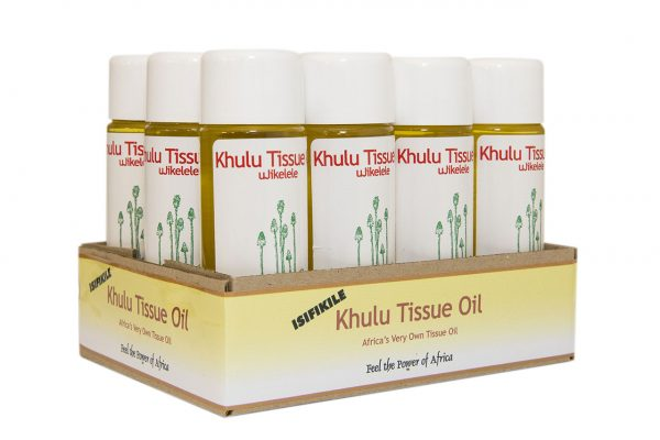 Khulu Tissue Oil - uJikelele - infused with African healing herbs